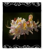 Floral Photomontage 1 Fleece Blanket