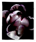 Floral Symmetry Fleece Blanket