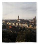 Florence Form The Piazza Michalengelo Fleece Blanket