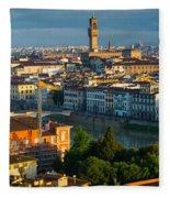 Florence Panorama Fleece Blanket