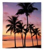 Florida Breeze Fleece Blanket