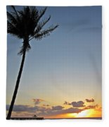 Florida Morning Fleece Blanket