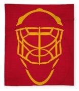 Florida Panthers Goalie Mask Fleece Blanket