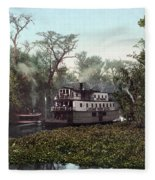 Florida Steamboat, C1902 Fleece Blanket
