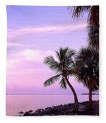 Florida Sunrise Fleece Blanket
