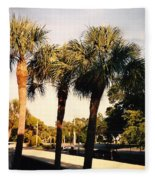Florida Trees 2 Fleece Blanket