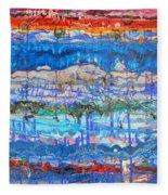 Flow Instability Fleece Blanket