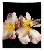 Flower Azalea. Fleece Blanket