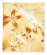 Flower Breeze Fleece Blanket