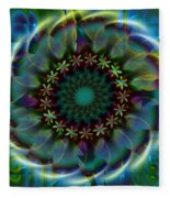 Flower Child Fleece Blanket