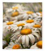 Flower - Daisy - Not Quite Fresh As A Daisy Fleece Blanket