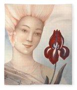 Flower Fairy Fleece Blanket
