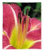 Flower Garden 02 Fleece Blanket