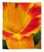 Flower Garden 06 Fleece Blanket
