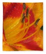 Flower Garden 10 Fleece Blanket