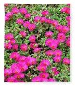 Flower Garden 38 Fleece Blanket