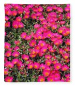 Flower Garden 39 Fleece Blanket