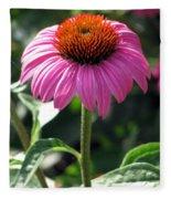 Flower Garden 48 Fleece Blanket