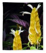 Flower Garden 51 Fleece Blanket