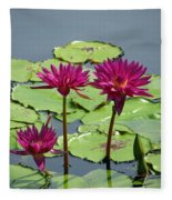 Flower Garden 57 Fleece Blanket
