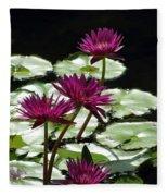 Flower Garden 59 Fleece Blanket