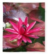 Flower Garden 67 Fleece Blanket