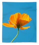 Flower - Growing Up In Brooklyn Fleece Blanket
