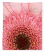 Flower - I Love Pink Fleece Blanket