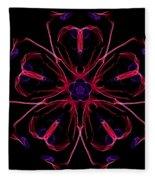 Flower Love Fleece Blanket
