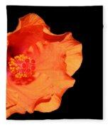 Flower On Fire Fleece Blanket