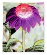 Flower Power 1357 Fleece Blanket