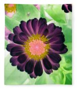 Flower Power 1435 Fleece Blanket
