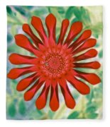Flower Power 1438 Fleece Blanket