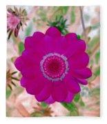 Flower Power 1439 Fleece Blanket