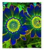 Flower Power 1446 Fleece Blanket