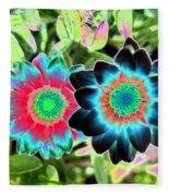 Flower Power 1449 Fleece Blanket