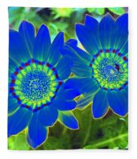 Flower Power 1451 Fleece Blanket