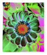 Flower Power 1454 Fleece Blanket