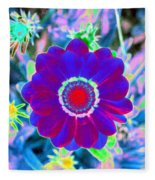 Flower Power 1458 Fleece Blanket