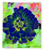 Flower Power 1460 Fleece Blanket