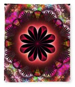 Flower Power Fleece Blanket