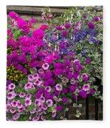Flower Riot Fleece Blanket