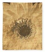Flower Secrets Fleece Blanket