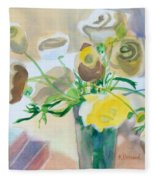 Flower Still Life          Fleece Blanket