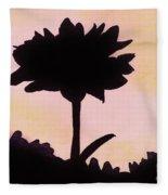 Flower - Sunrise Fleece Blanket