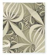 Flower Swirl Fleece Blanket