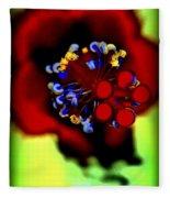 Flower With'in Fleece Blanket