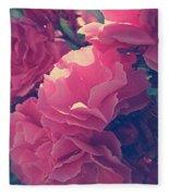 Flowering Blossoms Fleece Blanket