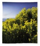 Flowering Bush Fleece Blanket
