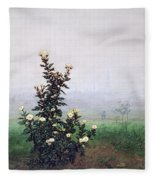 Flowering Chrysanthemum With Worker Fleece Blanket